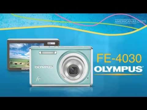 Americanas.com l Câmera Digital FE-4030 Azul - Olympus