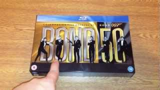 Bond 50 The James Bond 22 Blu-ray Movie Collection Unboxing