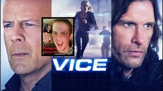 "I give my thoughts on the 2015 sci-fi action thriller Vice! It was directed by Brian A. Miller and stars Thomas Jane, Bruce Willis and Ambyr Childers. Overall this film was an alright time to me. It is somewhat conventional and isn't overly original with its premise and elements throughout but Thomas Jane is an all time favorite of mine and I had fun watching him in this as always. Bruce Willis does alright too though like most of the characters he doesn't have much to work with and is sort of just the villain and that's it. Ambyr Childers though gives a fine performance (I also liked her in the solid horror flick ""We Are What We Are"") and her character has the most development to be found in the movie. The action is pretty standard but is entertaining enough and the music used fits and works fine with the movie. I'm giving it a C+! FOLLOW ME ON FACEBOOK: https://www.facebook.com/BloodeeJacobOFFICIALFOLLOW ME ON TWITTER:https://twitter.com/BloodeeJacob"