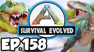 ARK: Survival Evolved Ep.158 - CRAZY HARVEST w/ THERIZINOSAUR DINOSAURS! (Modded Dinosaurs Gameplay)