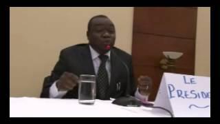 UNION NATIONALE POUR LE DÉMOCRATIE ET LE PROGRÈS, Parti politique Centrafricain avec pour Président Michel AMINE. Discours en Sango, langue ...