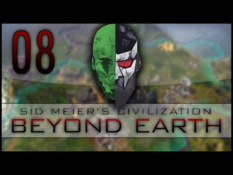 Civilization: Beyond Earth Co-op LP – MadDjinn and Docm77 take on the Aliens – EP08