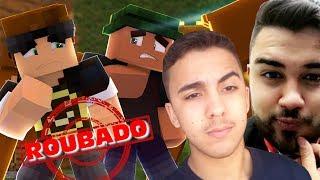 Minecraft: POKEY E KIBOX ROUBARAM MEU CANAL Video