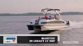 6. Boat Buyers Guide: 2019 Manitou 25 Legacy LT SHP