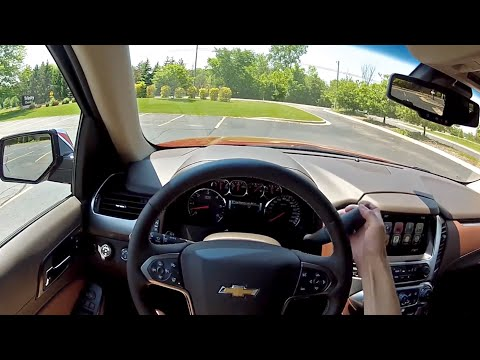 2015 Chevrolet Tahoe LTZ - WR TV POV Test Drive