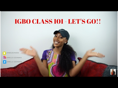 IGBO CLASS 1 - LEARNING THE IGBO LANGUAGE | JANE EZEANAKA