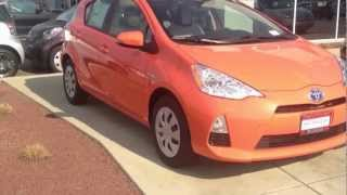 2012 Toyota Prius C Package ONE 1201 Model Test Drive Habanero