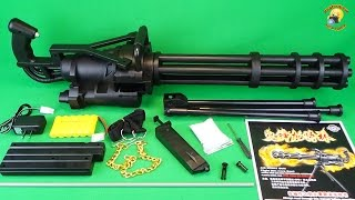 Video Миниган игрушечный пулемет Toy Gun  Minigun M134  airsoft sport gun MP3, 3GP, MP4, WEBM, AVI, FLV Desember 2018
