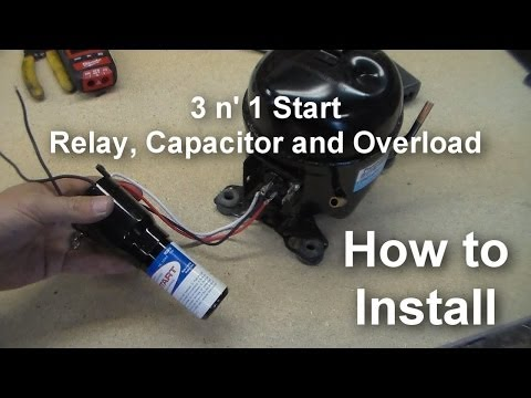refrigerator relay wiring diagram pramuka this is a video showing you how to install a 3 in 1 start relay these are a universal set of relays you can use in place of the factory relays installed