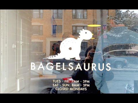 Yummy Breakfast at Bagelsaurus {Cambridge, MA}