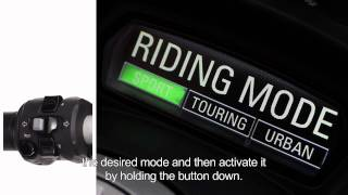 8. 2011 Ducati Diavel Riding Modes and Dashboard