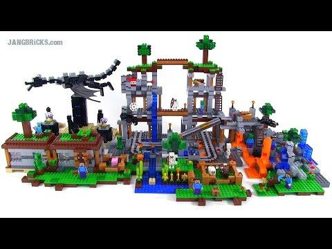 LEGO Minecraft - ALL 2014 Sets Together!