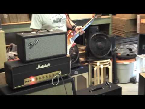 techtube - Using Marshall 1987 to test TechTube E813CC. This amp belongs to Dan Boul at 65Amps.