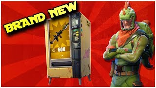 FORTNITE - THE VENDING MACHINE SAVED US! (Victory Royale)