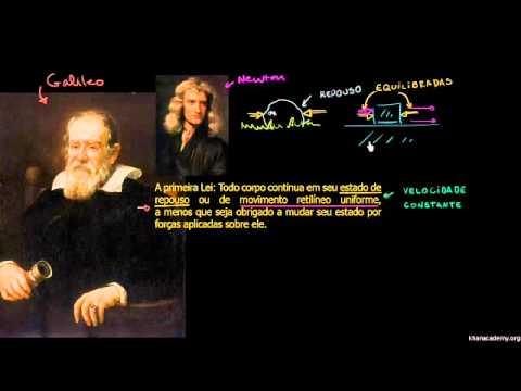 Vídeo aula: Primeira Lei de Newton