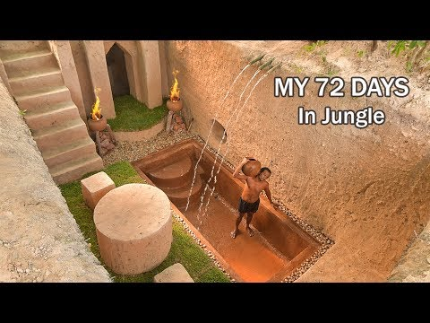 72Days In Jungle And Underground Building