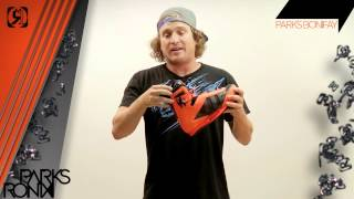 Ronix Parks Wakeboard Bindings 2013