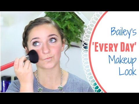 Bailey's Everyday Makeup Routine | Brooklyn and Bailey