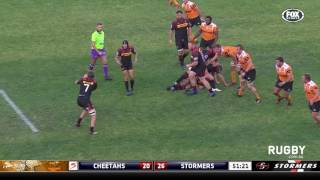 Cheetahs v Stormers Rd.15 Super Rugby Video Highlights 2017