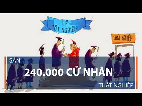 Gần 240.000 cử nhân thất nghiệp | VTC1 - Thời lượng: 4 phút.