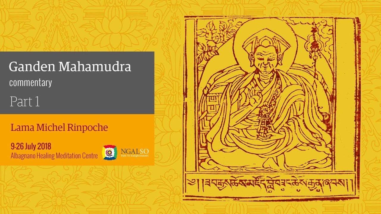 Ganden Mahamudra commentary (English - Italian) - part 1