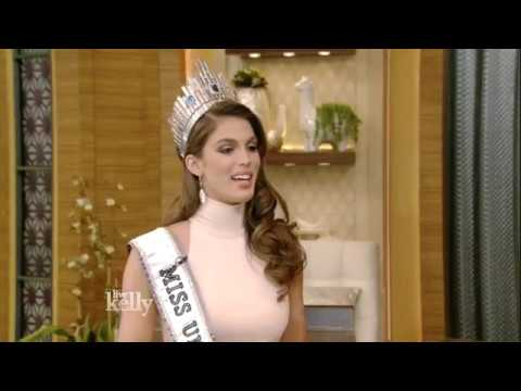 Iris Mittenaere on Being Crowned Miss Universe