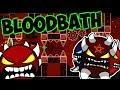 Bloodbath: победа ИЛИ смерть! УДАЛЮ канал, если не пройду! Geometry Dash [58] Блудбаз [1]