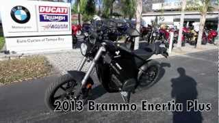 7. 2013 Brammo Enertia Plus at Euro Cycles of Tampa Bay