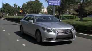 2013 Lexus LS Car Review And Test Drive