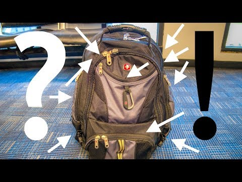 SwissGear 1900 Backpack Review: Such A Thing As TOO Many Pockets?
