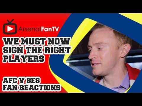 we - We must now sign the right players - Arsenal 1 Besiktas 0 AFTV APP: IPHONE : http://goo.gl/1TNrv0 AFTV APP: ANDROID: http://goo.gl/uV0jFB AFTV ONLINE SHOP : http://tiny.cc/el3rrw AFTV WEBSITE:...