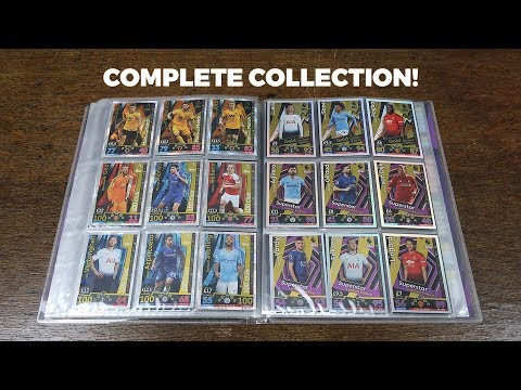 COMPLETE COLLECTION! Match Attax 2018/19