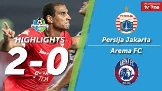 Video Persija Jakarta VS Arema FC: 2-0 All Goals & Highlights MP3, 3GP, MP4, WEBM, AVI, FLV Juni 2018