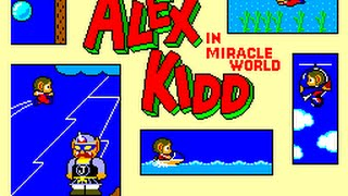 Alex Kidd Tribute YouTube video