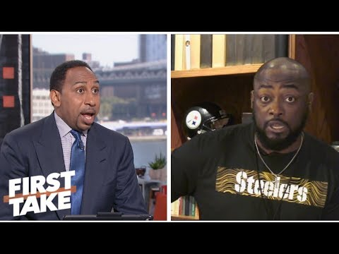 Mike Tomlin calls out Stephen A. during interview about Steelers defense | First Take | ESPN