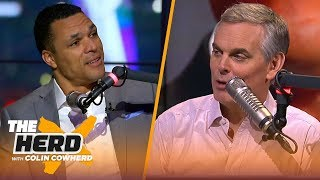 Tony Gonzalez discusses Pro Football Hall of Fame induction, recaps Super Bowl LIII | NFL | THE HERD