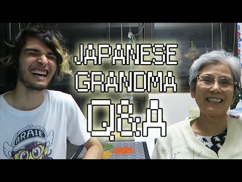 MY JAPANESE GRANDMA ANSWERS YOUR QUESTIONS! (видео)