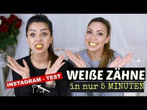 INSTAGRAM HACK - TEST ! WEIßE ZÄHNE IN NUR 5 MINUTEN!