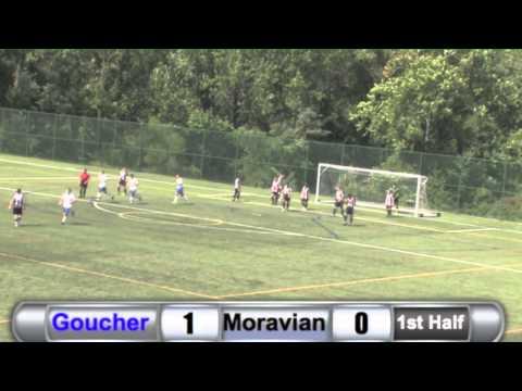 MSC: Goucher vs. Moravian Highlights - 9/20/14