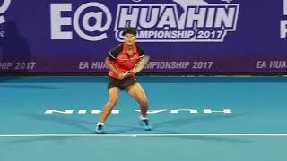 EA Hua Hin Championship2017  SINGLES Luksika Kumkhum THA  –  Yanina Wickmayer BEL