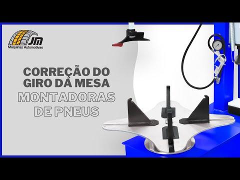 Montadoras Elétricas - Corrigir o Giro da Mesa