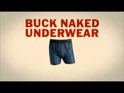 Buck Naked Underwear Duluth Trading 2013 Super Bowl TV Commercial