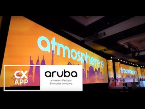 The Cxapp & Aruba, A Hewlett Packard Enterprise Company: Mobile Event App @ Atmosphere 2019
