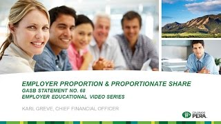 GASB 68: Employer Proportion and Proportionate Share