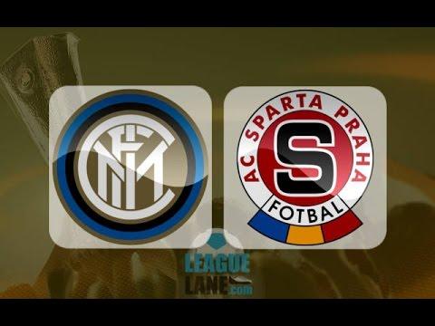 Inter Milan - Sparta Prague 2-1 08/12/2016 Highlights - Europa League - Edér, Carrizo