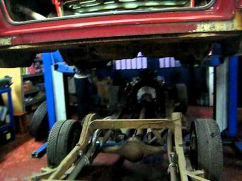 1958 Chrysler 300 D Body removing