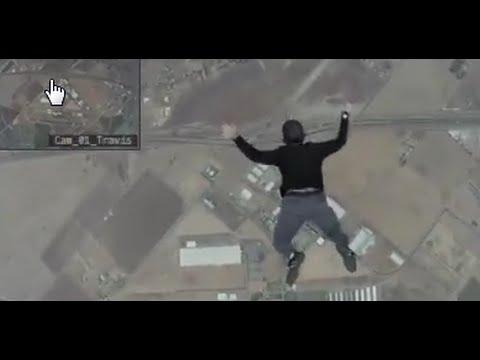 瘋狂男子沒戴降落傘從飛機上跳下來,竟然成功了....?