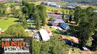 Music Festival Aerial Video