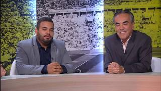 Presidente Arnaldo Barros é o entrevistado do Camarote FC do Canal Premiere