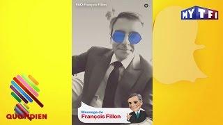 Video François Fillon se lâche sur Snapchat - Quotidien du 17 Avril 2017 MP3, 3GP, MP4, WEBM, AVI, FLV Mei 2017